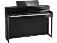 Piano Digital com Móvel Roland HP704 PE Preto Polido