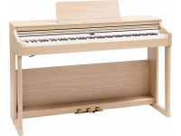 Piano Digital com Móvel Roland RP701 LA Light Oak Piano Premium Bluetooth