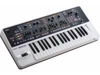 Roland GAIA SH-01 Sintetizador  Sintetizador Roland SH01 Gaia Branco