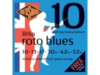 Rotosound Nickel Light Top Heavy Bottom RH10 Blues 10-52