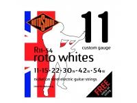 Rotosound Nickel Medium Whites 11-54