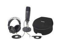 Pack microfone USB Samson C01U Pro Podcasting Pack Studio