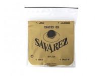 Savarez Jogo de Cordas Guitarra Clássica 520B  Savarez 520B Set de cuerdas para guitarra clásica de baja tensión
