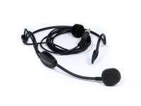Conjunto de microfone de cabeça Sennheiser  HSP 4 EW BK