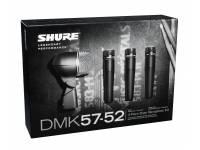 Microfones para bateria Shure DMK57-52 4  O Kit Shure DMK57-52 é a escolha perfeita para gravação de baterias.