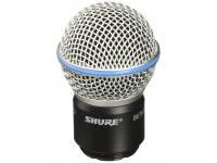 Shure RPW118  Cápsula sem fio para BETA® 58A, corpo do microfone e globo fosco.