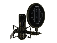 Sontronics STC-3X Pack black   Pack de microfone de condensador Sontronics STC-3 X Pack Black
