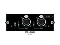 Soundcraft Si Series Madi Card   Soundcraft Si Series Madi Card   Placa Plug-In para Soundcraft SI Digital Mixer    Adequado para SI e SI Compact    Extensão MADI com até 64 canais a 48 KHz    32 canais a 96 kHz    2 conectores RJ45 para AUX e Main