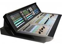 Soundcraft Vi 2000   Soundcraft VI 2000   96 canais DSP    24 barramentos mono ou estéreo    10 barramentos LCR e solo fixos    3 ecrãs tácteis    28 faders com brilho fader    Studer Vista1 Spider Core com processadores FPGA e Sharc    Interfaces integradas Dante / MADI / AES    Dois slots de cartão 64 x 64 (D21m)    48 Entradas de microfone    16 saídas de linha integradas    Suporta todas as caixas de palco Soundcraft    Suporta Racks em Tempo Real UAD    Suporta o ViSi Remote App    Dimensões: 1155 x 351 x 784 mm