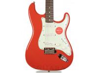 Guitarra Stratocaster Squier  FSR Classic Vibe Stratocaster 60s, LRL Fiesta Red