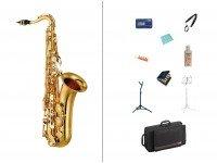 Pack de saxofone Yamaha PACK YAMAHA YTS 280  Pack para saxofone Startone PACK YAMAHA YTS 280  - Sax Tenor Yamaha YTS-280 - Estojo - Correia - Estante pauta - Liquido limpeza - Pano limpeza - Baton cortiças - Suporte - Porta palhetas - Metronomo
