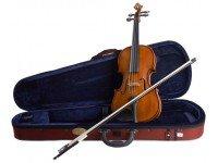 Violino 3/4 Stentor SR1500 Student II 3/4   Violino em acer e abeto sólidos, acabamento brilhante  Instrumento com arco. Tamanho 3/4  Estojo incluído.