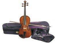 Violino 1/4 Stentor SR1500 Student II 1/4   Violino em acer e abeto sólidos, acabamento brilhante  Tamanho 1/4  Estojo e arco incluído.