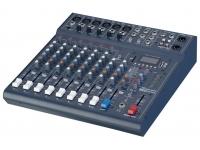 Studiomaster Club XS 10 Rack  Estante Studiomaster Club XS 10  6 entradas de línea estéreo de micrófono + 2