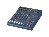 Studiomaster Club XS 8 Rack  Estante Studiomaster Club XS 8  4 entradas de línea estéreo de micrófono + 2