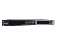 Studiomaster QX4-4000   Studiomaster QX4-4000  Amplificador digital de reduzido peso e tamanho  4x1000W@8 - 4x1700W@4 - 4x2890W@2