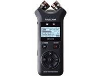 Gravador de áudio portátil e interface USB Tascam DR-07X