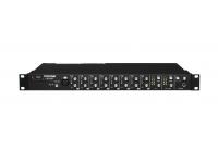 Tascam LM-8ST Line Mixer  8 CANALES DE MEZCLADOR DE LÍNEA ESTÉREO  El LM-8ST es un mezclador de línea de montaje en bastidor de 1 espacio para instalación, submezcla de estudio, teclados o cualquier persona que busque una mezcla excelente.