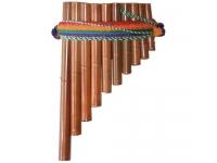 Terre Flauta Pan Peru 10 Tubos