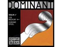 Corda para violino Thomastik Dominant 1/4 Violin Mi String, Chrome Steel