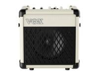 Vox  MINI5 Rhythm IV  Con 99 patrones de ritmo ajustables, el VOX MINI5 Rhythm te permite practicar con precisión donde sea que te lleve la carretera. Alimentado por seis baterías AA o el adaptador incluido, el MINI5 Rhythm es el amplificador ideal para ensayos de vestuario o escribir música nueva entre espectáculos.