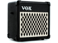 Vox  MINI5 Rhythm  Con 99 patrones de ritmo ajustables, el VOX MINI5 Rhythm te permite probar con precisión donde sea que te lleve la carretera. Alimentado por seis baterías AA o el adaptador incluido, el MINI5 Rhythm es el amplificador ideal para ensayos de vestuario o escribir música nueva entre espectáculos.