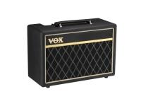 """Vox  Pathfinder 10 Bass  A VOX tem o prazer de apresentar para os baixistas o mais novo membro da família Pathfinder: o Pathfinder 10 Bass.   Vox Pathfinder 10 Bass  Potência de saída: 10 Watts RMS  Altifalante: Vox Bulldog 5 """"x 2 (4 ohms)  Entrada: Entrada Jack  Saída: Headphones/Saída de linha  Controles: Drive, Agudos, Graves, Volume, Brilho  Dimensões (L x P x A): 380mm (L) x 277mm (A) x 170mm (P)  Peso: 5.6kg / 12.32 lbs"""