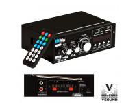 VSOUND  Amplificador 12/220V 60W MP3/USB/SD/FM