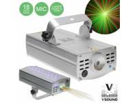 Lasers VSOUND LASERSTAR150  Laser 150MW Vermelho e Verde Star
