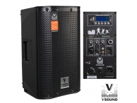 Colunas Amplificadas VSOUND VSSPRO8APUSB