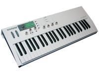 Waldorf Blofeld Keyboard White   Sintetizador Profissional  Teclado de 49 teclas semi-pesadas  16 partes multi-tímbrico  Mais de 1000 sons  Excelente motor de áudio!