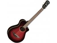 Yamaha APXT2 DR   A APXT2 tem 3/4 do tamanho da APX500III, a guitarra eletro-acústica mais vendida a nível mundial. Esta guitarra, além de compacta e divertida, é meticulosamente construída e revela-se uma excelente companhia em viagem. A APXT2 inclui sistema captação baseado no ART e um afinador Yamaha com grande sensibilidade e precisão, para uma afinação rápida. Inclui um saco de transporte.
