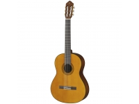 "Yamaha C70  Yamaha C70  Guitarra Clássica Yamaha C70. Corpo: Profundidade de 94-100mm; Topo: Spruce ; Traseira e lateral: Meranti; Acabamento: Brilhante. Braço: Nato. Escala: Rosewood 25 9/16""; Pente: 52 mm. Neckjoint: Set-In. Cutaway: 12. Ferragens: Cavalete: Rosewood; Carrilhões: Dourados. Trastos: 19. Cor: Gloss Natural."