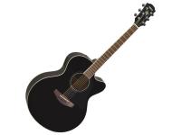 Yamaha CPX 600 Black  Combina todos os atributos que fizeram da sua antecessora, a CPX500, uma das guitarras eletroacústicas mais vendidas do mundo, e inclui algumas novidades a nível cosmético e de conforto.