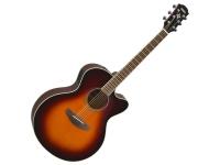 Yamaha CPX 600 Old Violin Sunburst  Combina todos los atributos que hicieron de su predecesor, el CPX500, una de las guitarras electroacústicas más vendidas del mundo, e incluye algunas novedades en términos de cosméticos y comodidad.