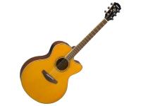 Yamaha CPX 600 Vintage Tint  Combina todos os atributos que fizeram da sua antecessora, a CPX500, uma das guitarras eletroacústicas mais vendidas do mundo, e inclui algumas novidades a nível cosmético e de conforto.