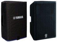 Colunas Amplificadas Yamaha DXR 15 COVER SET  Set Colunas YamahaDXR-15 + SacoSC DXR15