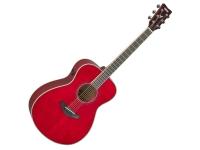 Yamaha FS-TA Ruby Red TransAcoustic   Yamaha FS-TA Ruby Red TransAcoustic  Desenho: Concerto  Top: Pinheiro Sitka  Topo Sólido: Sim  Acabamento da parte superior: Muito brilho  Parte traseira e lateral: Mogno  Acabamento da parte traseira e lateral: Muito brilho  Pescoço: Mogno  Escala: Rosewood  Incrustações: Dot  Número de trastos: 20  Material da pestana: Urea  Número de cordas: 6  Sistema de recolha: System 70 SRT