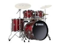 """Bateria acústica Yamaha GIGMAKER GM0F5 Burgundy Glitter  Kit de principiante que expressa a sua identidade musical   Bombo de 20"""" x 16""""  Timbalão de 10"""" x 08""""  Timbalão de 12"""" x 09"""""""