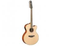 Yamaha Guitarra Eletroacústica 12 cordas  CPX700II-12 Natural   Versão com 12 cordas daCPX700II. As guitarras da série 700 distinguem-se pelo seu estilo e características que foram trazidas das guitarras da série 1000, mas apresentam um sistema de amplificação ART exclusivo. Concebidos para reproduzirem toda a ressonância do corpo da guitarra, a captação do sistema ART é perfeita, para uma recriação fiel dos tons naturais bem como todas as dinâmicas, significa por isso que as diferenças subtis entre as guitarras APX e CPX estão perfeitamente recriadas, permitindo-lhe fazer a opção que melhor se adapta ao seu estilo, com a certeza de que o carácter estará sempre presente.