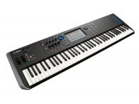Yamaha MODX7  Para el tecladista que necesita una amplia gama de sonidos expresivos, MODX es un sintetizador con instrumentos ultra realistas y un sonido de sintetizador altamente programable. MODX se adapta a cualquier situación de performance o creación musical.