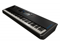 Yamaha MODX8   Para o pianista que precisa de um instrumento baseado no piano com uma enorme variedade de sons, o MODX é um sintetizador com um teclado de ação pesada de 88 teclas. O MODX combina mais de 125 anos de experiência da Yamaha na construção de pianos e mais de 40 anos a criar sintetizadores, líderes na Industria Musical.