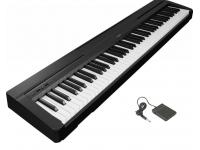 Yamaha P-45  Toque realista das teclas que oferece a sensação de tocar um piano real.   Polifonia de 64 notas  88 teclas  Teclado GHS