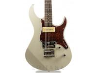 "Yamaha Pacifica 311H Vintage White   Guitarra Eléctrica Yamaha Pacifica 311H Vintage White  Corpo: Alder  Braço: Maple  Escala: Rosewood 25.5'' (648mm); Raio: 13 3/4"" (350mm)  Neckjoint: Bolt-On  Inlays: White Dots  Cutaway: 20  Ferragens: Carrilhões: Grover Locking Tuner; Ponte: Hardtail Bridge; Hardware: Cromado  Trastos: 22  Electrónica: Passiva  Pickups: Braço: P90 pickup; Ponte: Humbucker Pickup  Cor: Vintage White"