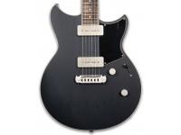 """Yamaha Revstar RS502 SPB Shop Black  Yamaha Revstar RS502 SPB Shop Guitarra eléctrica negra  Longitud de escala: 24 3/4 """"(628,6 mm)  Mástil: caoba  Diapasón: Palisandro  Radio: 13 3/4 """"(350 mm)  Construcción: montaje  Trastes: 22, Jumbo  Cuerpo: tapa de arce, caoba  Sintonizadores: fundidos a presión  Puente: envolvente ajustable  Pastillas: VP5; Producción vintage P-90 con tapa de níquel satinado  Interruptor de recogida: palanca de 3 posiciones  Controles: volumen maestro, tono maestro (Push-Pull, interruptor seco)  Acabado: SPB"""
