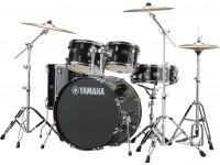 Conjunto de Bateria Yamaha Rydeen Standard Black Glitter 22