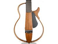 Yamaha SLG200N Natural Nylon   Yamaha Silent Guitar SLG200N Natural Nylon  Som autêntico integrado através de sistema elétrico SRT Powered  Supercompacta, estrutura desmontável  Aparência única e atraente  Desempenho ultra silencioso  Corpo esguio semelhante ao de uma guitarra elétrica  Variedade de funções que cativa os músicos e os impede de se aborrecerem