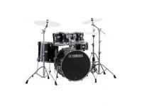 Yamaha Stage Custom Studio Set RBL   Yamaha Stage Custom Birch Raven Black com Hardware sem Pratos