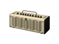Yamaha THR10 V2   Combo Guitarra Eléctrica Yamaha THR10 V2  Efeitos: Efeitos: Chorus, Flanger, Phaser, Tremolo, Delay, Delay/Reverb, Sring Reverb, Hall Reverb (Compressor, Noise Gate – disponiveis THR Editor); Amp: Clean, Crunch, Lead, Brit Hi, Modern, Aco, Flat; Afinador  Controladores: Amp; Gain; Master; Bass; Middle; Treble; Effect; Dly/Rev; Guitar Output; USB/Aux Output; Memory (5 Botões)  Potência máxima: 10W  Potência: 10W (5W + 5W)  Woofer: 2x 3'' Full Range  USB: 1x Ligação a computador  Alimentação: Alimentador (incluído).