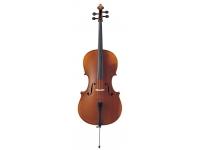 Yamaha Violoncelo  VC7 4/4 com Saco e Arco  Yamaha VC7 4/4 Cello con bolsa y lazo  Especificaciones:  -Top: abeto  -Fondo, costillas y anillos: arce  -Cuerpo tipo Stradivarius  -Diapason y clavijas: ébano  -Wittner Standard «Ultra»  - Cuerdas D'Addario Helicore  -Aubert caballete  -Suministrado con resina Schwarz, 4 sintonizadores de microajusteWittner, bolsa y arco